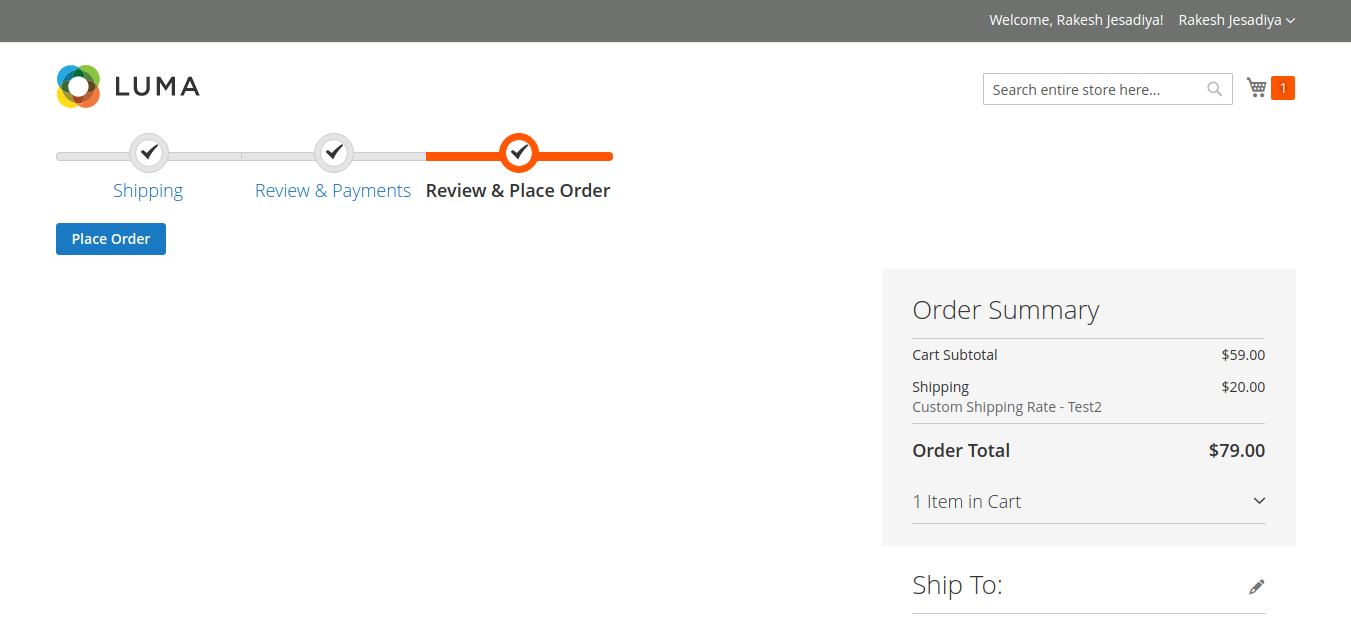 How To Add A New Step In Checkout Page Magento 2 Rakesh Jesadiya